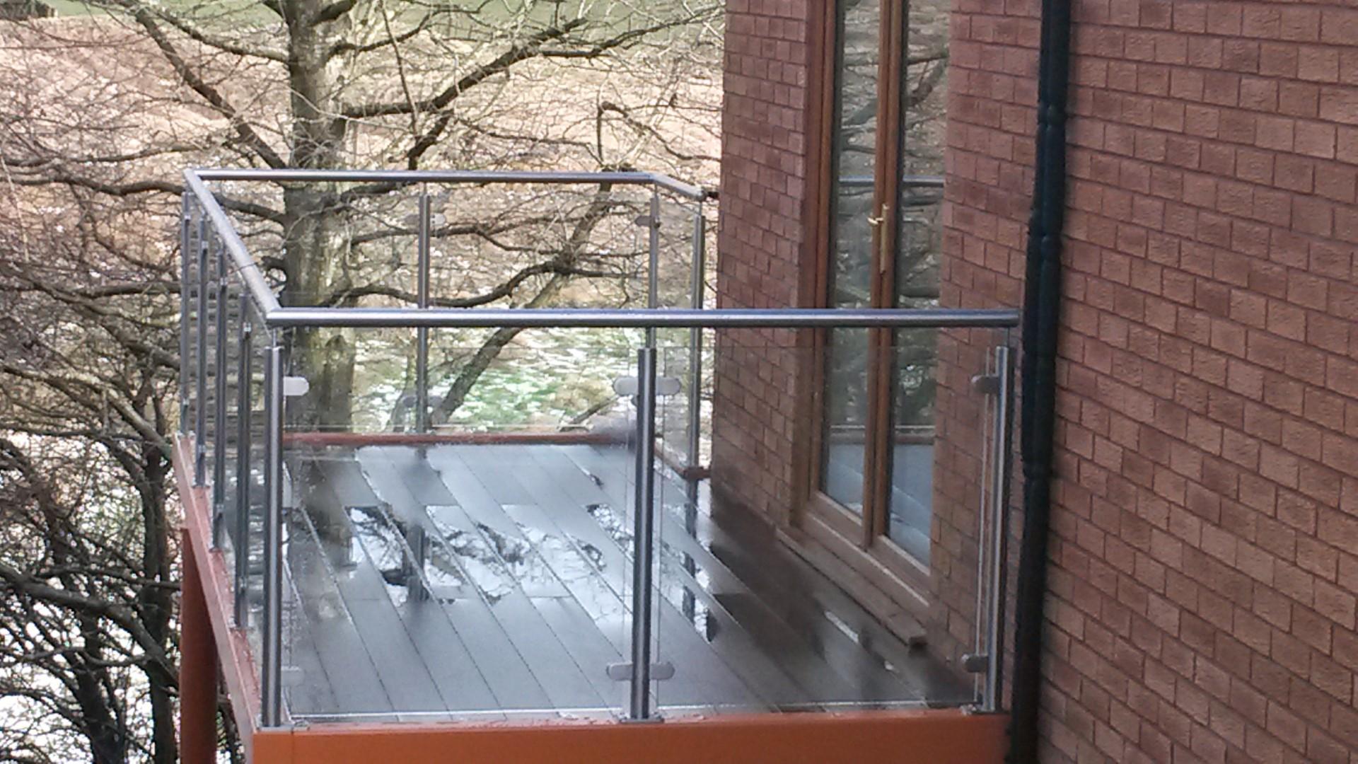 Steel Fabricators Of Balconies Staircases First Floor